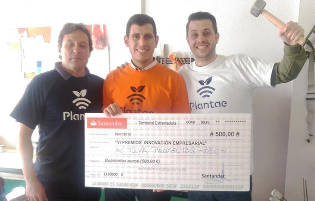 """AgroExpo. 3º premio a la empresa innovadora en los """"VI Premios Innovación Empresarial"""""""