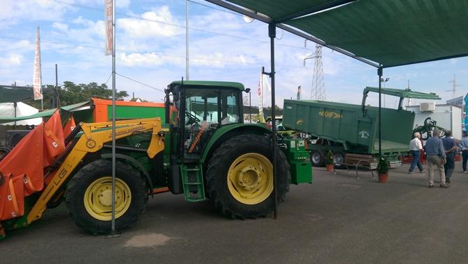Ingeniería Agrícola aplicada a tractores de última generación