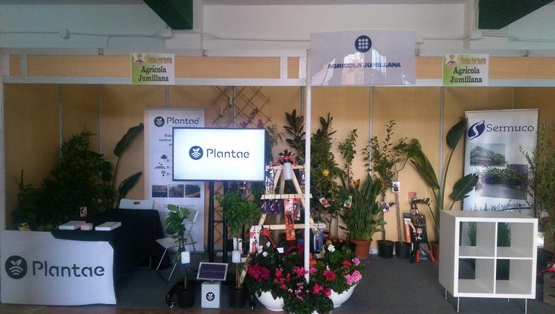 """""""Todo listo para la inauguración de la feria y el acuerdo entre Plantae y la Cooperativa Agrícola Jumillana."""