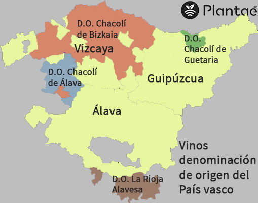 Vinos País vasco