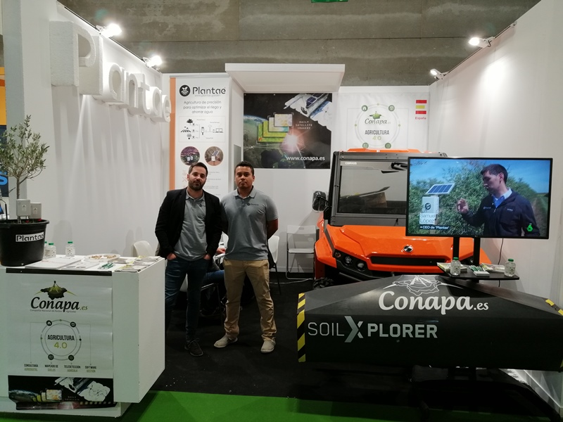 Stand de Plantae en Fruit Attraction 2019