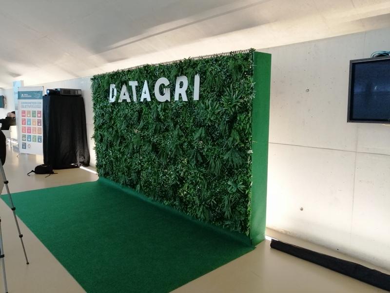 Panel de entrada de Datagri
