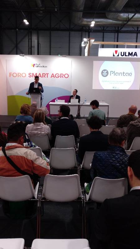 coferencia de Plantae en Fruit attraction