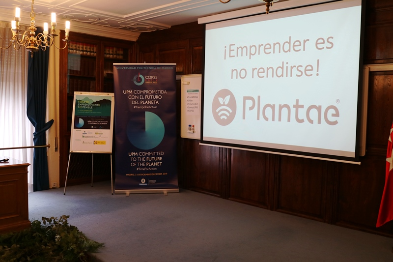 Plantae en el Foro de Emprendiento Sostenible
