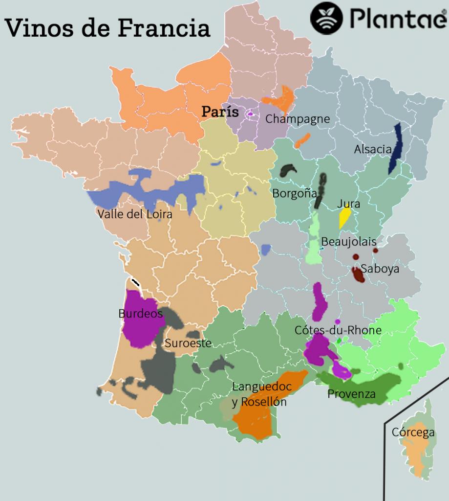 Vinos en Francia