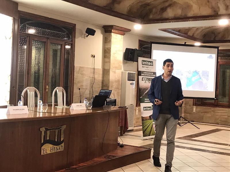 Samuel López CEO de Plantae en conferencia de Cuellar Segovia