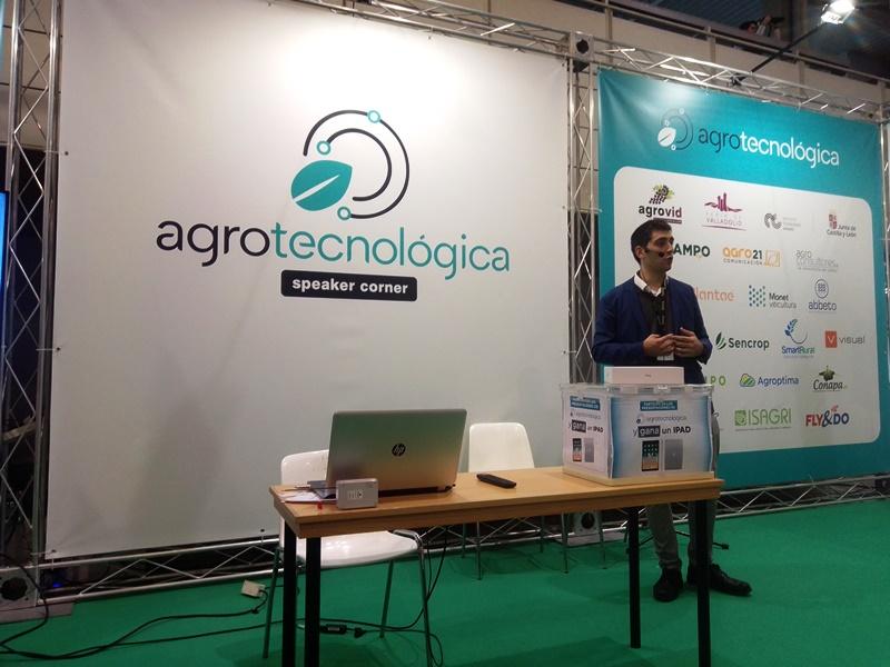 Agrotecnológica Valladolid -conferencia de Plantae