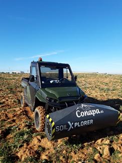 Mapeado con vehículo ligero para de suelo y subsuelo con Conapa