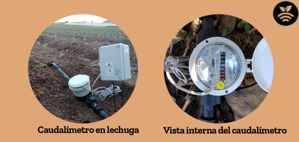 Caudalímetro para Sensores para optimizar el agua de riego