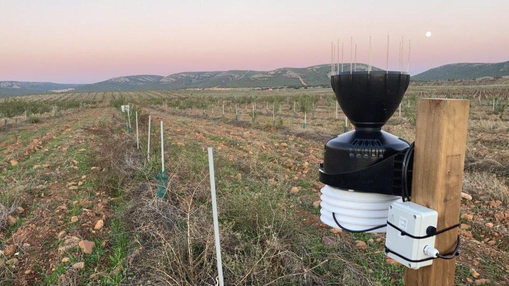 Estación meteorológica para agricultura en Nuevo catálogo de dispositivos