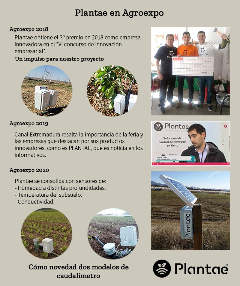 Presentamos de forma gráfica nuestro paso por la feria Agroexpo 2020 de Don Benito.