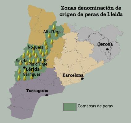 Peras de Lleida