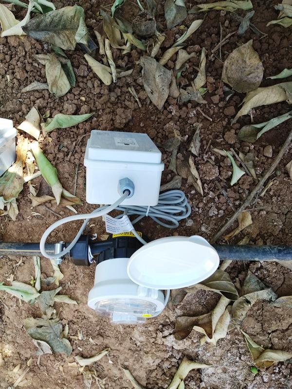 Caudalímetro-Gráfica de Humedad y caudal-Agricultura de Precisión en Universidad Carlos III-Clases prácticas