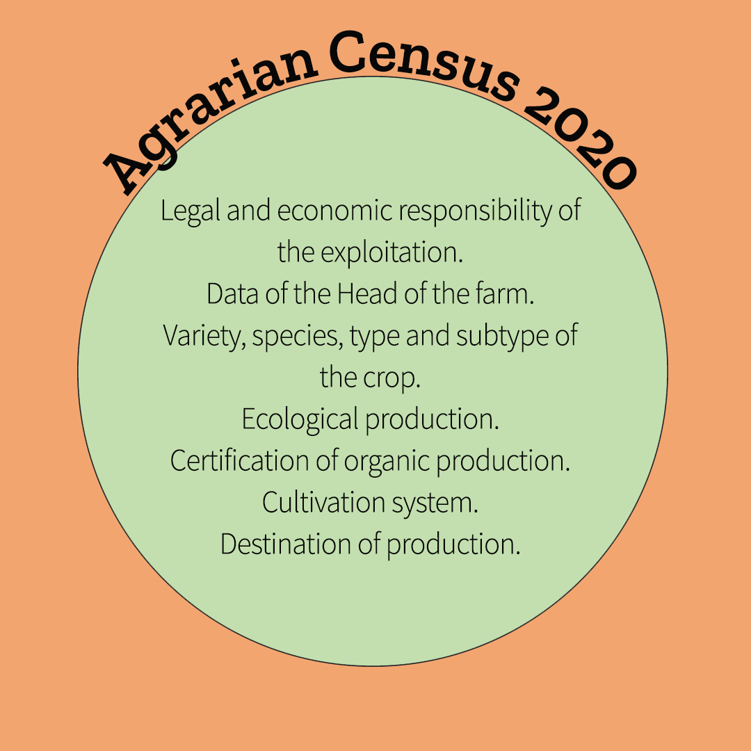 Agrarian Census 2020 for the agricultural sector