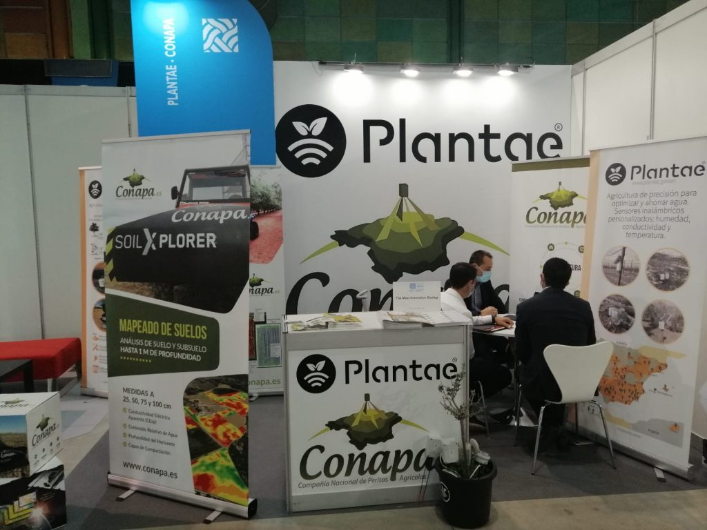 Smart Agrifood Summit 2021-Stand de Plantae