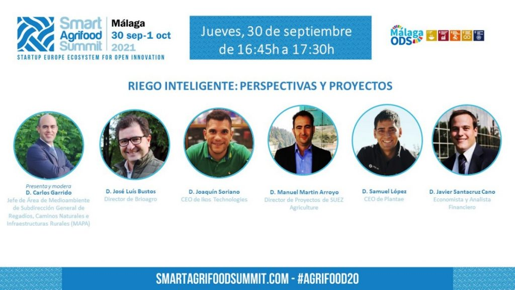 "Smart Agrifood Summit-""Riego Inteligente: Perspectivas y Proyectos"""